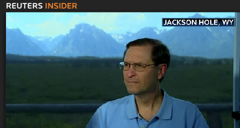 Glenn Hubbard at Jackson Hole, Wyoming